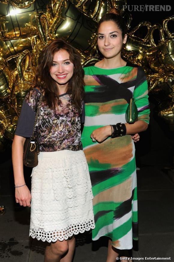 Imogen Poots, à gauche, avec une amie.