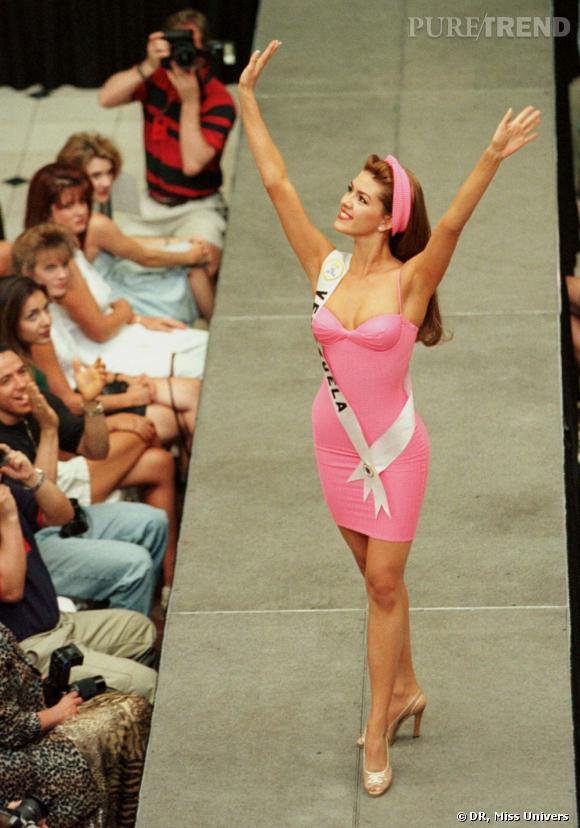 Alicia Machado, Miss Univers 1996.