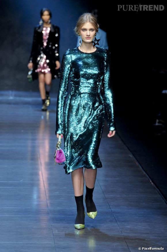 Défilé Dolce & Gabbana automne-hiver 2011-2012.