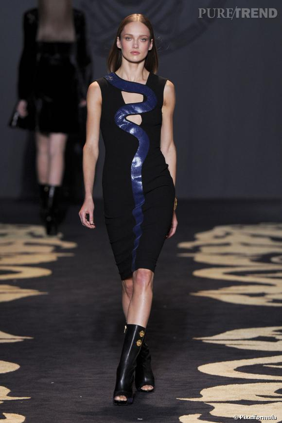 Défilé Versace automne-hiver 2011-2012