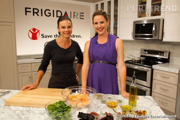 Jennifer Garner continue sa promotion pour la marque Frigidaire ...
