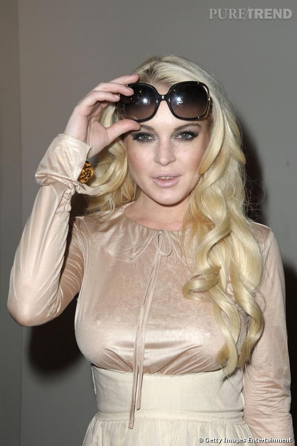 Lindsay Lohan chez Dw by Kanye West.