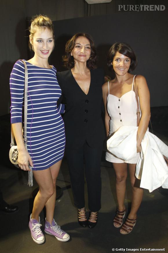 Pauline Lefèvre, Nathalie Rykiel et Florence Foresti.