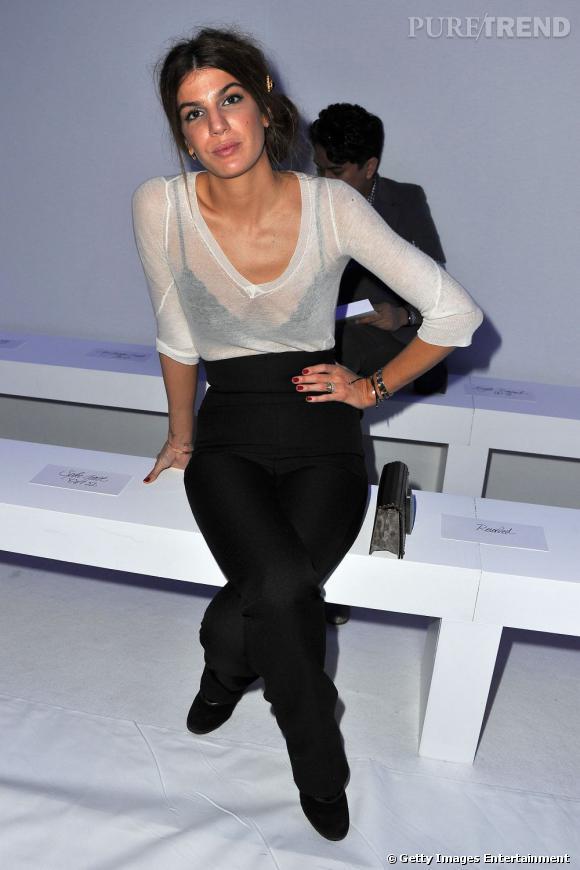 Bianca Brandolini d'Adda en solo chez Dw by Kanye West.