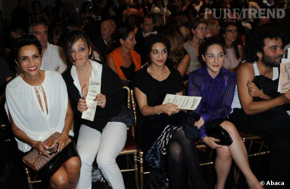 Farida Khelfa, Catherine Ringer, Camelia Jordana et Marilou Berry chez Jean-Paul Gaultier.