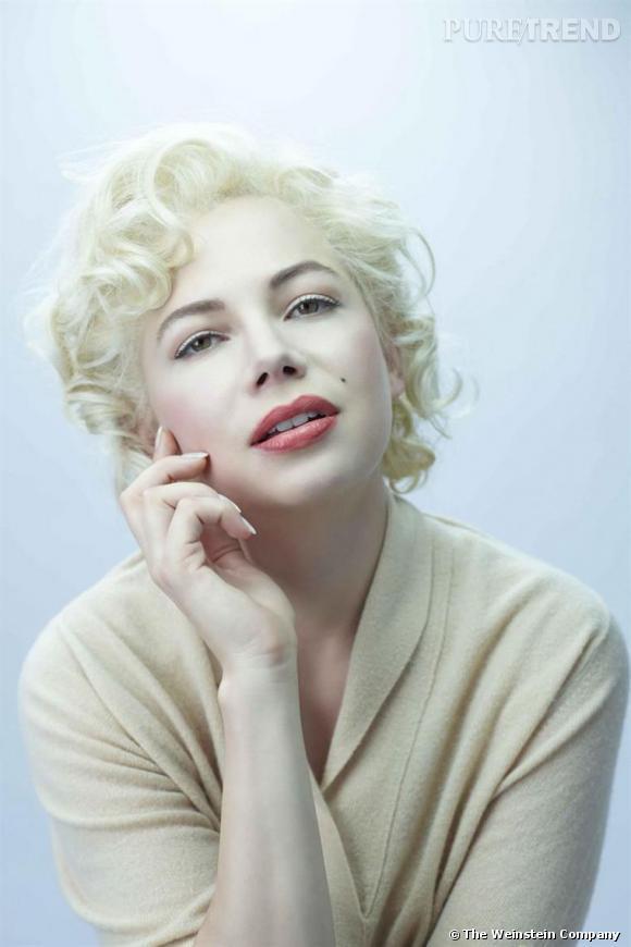 """Michelle Williams dans la peau de Marilyn Monroe pour le film """"My Week with Marilyn"""", sortie le 25 novembre."""