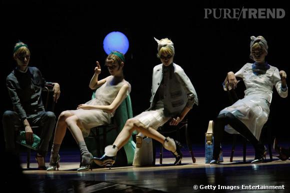 Défilé Marc Jacobs, Printemps-Été 2012.