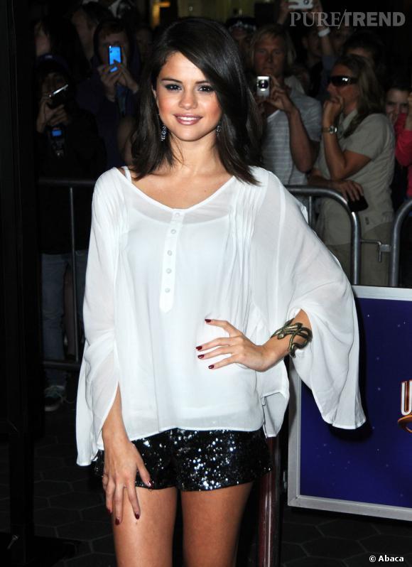 """Selena Gomez à la première de """"The Thing"""" à Los Angeles."""