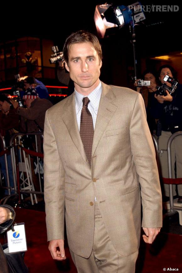 Il fut un temps le boyfriend de la belle Gwyneth, l'acteur Luke Wilson, en 2001.