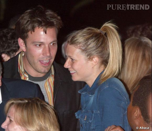 Le beau Ben Affleck avec qui elle a vécu deux ans, de 1998 à 2000.
