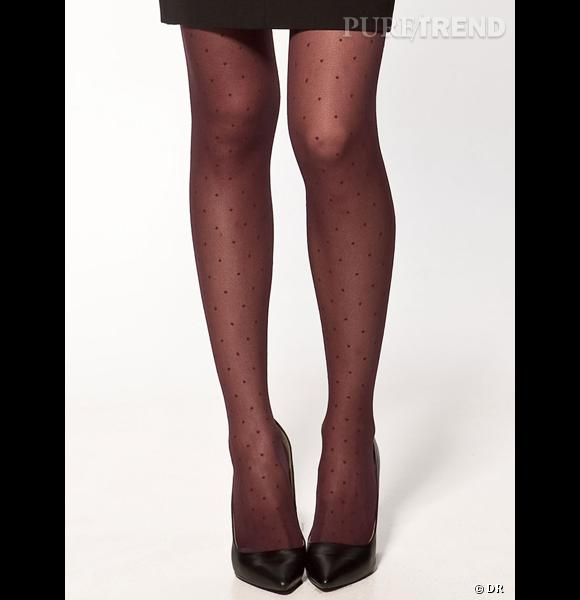 Sélection e-shopping : opération collants !  www.zara.com Collants Zara, 12,95 €.