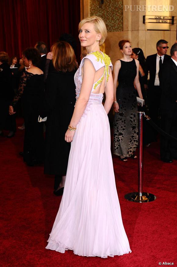 Cate Blanchett est connue pour sa grâce, elle a aussi mis au monde trois enfants.