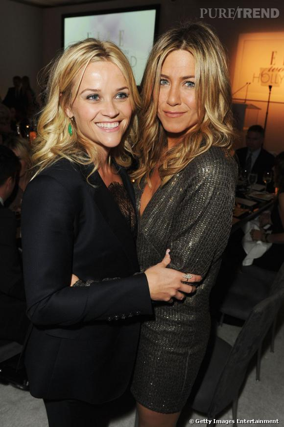 Reese Witherspoon et Jennifer Aniston.