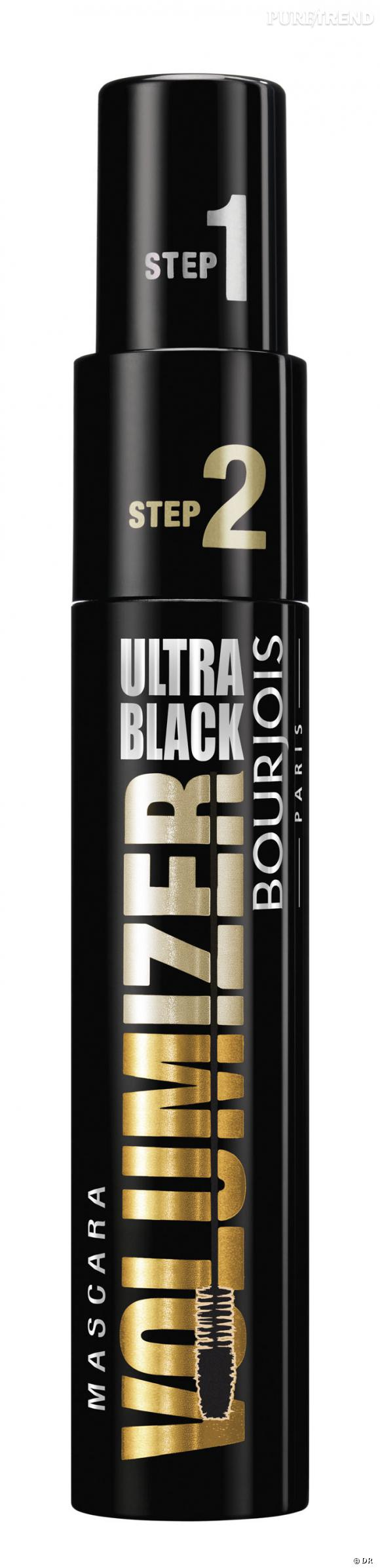 Shopping petits prix : les mascaras pas chers     Mascara Volumizer Ultra Black, Bourjois, 14,95 euros