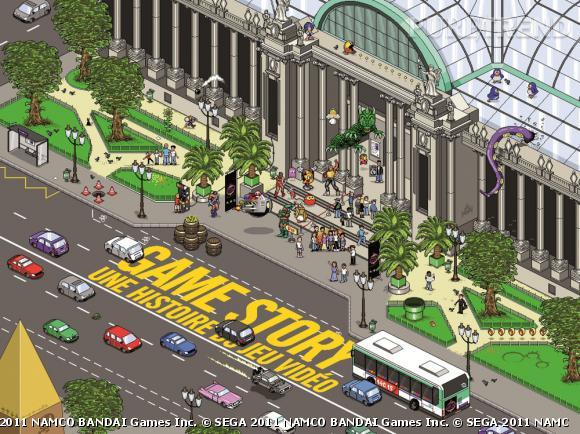 """""""Game Story, une histoire du jeu vidéo"""" du 10 novembre 2010 au 9 janvier 2012 Grand Palais."""