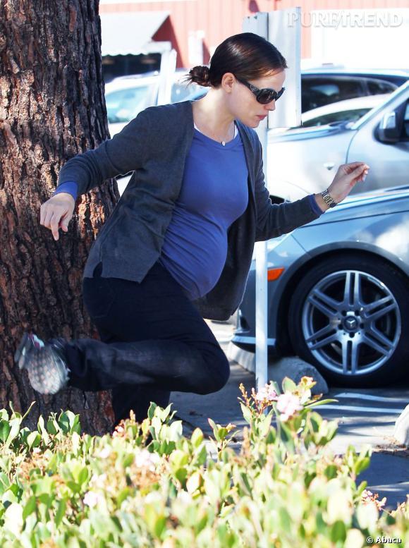 Jennifer Garner en balade à Los Angeles prend des risques.