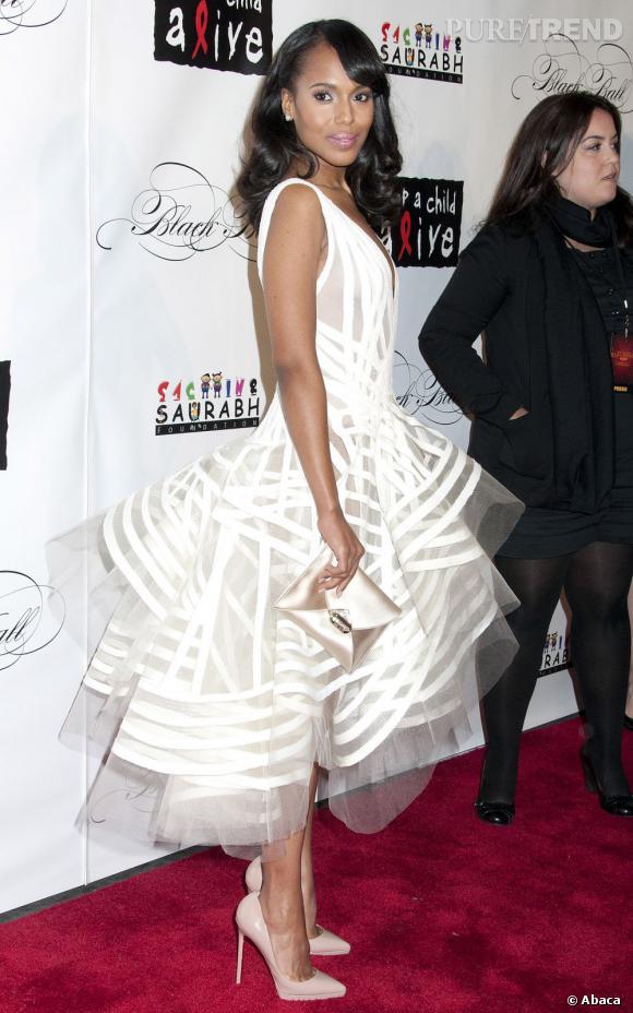 Kerry Washington au Black Ball 2011 à New York.