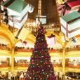 Les grands magasins du boulevard Haussamn revêtent cette semaine leurs habits de fête. Les Galeries Lafayette ouvrent le bal le 8 novembre en demandant à Charlie Winston d'illuminer leurs vitrines et leur façade. Il dévoilera par la même occasion la nouvelle campagne d'affichage du grand magasin qui a imaginé Iggy Pop en Père Noël déjanté. Le lendemain, le Printemps dévoilera ses décors féériques avec  Vanessa Paradis  et  Karl Lagerfeld  en invité d'honneur.   Rendez-vous le 8 novembre à 17h30 aux Galeries Lafayette et le 9 à partir de 17h15 au Printemps.