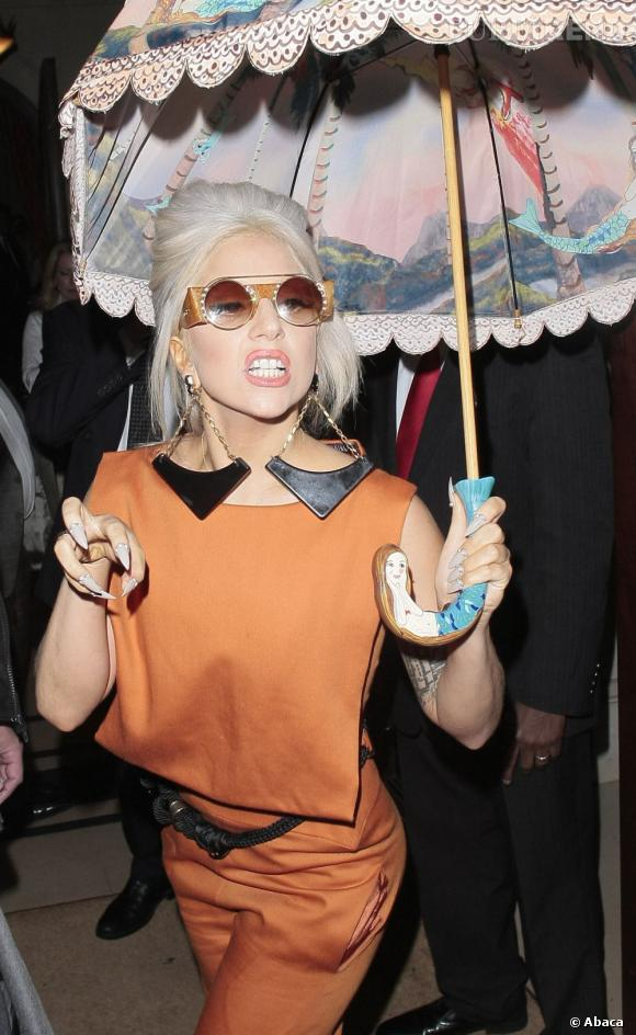 Lady Gaga à Londres.