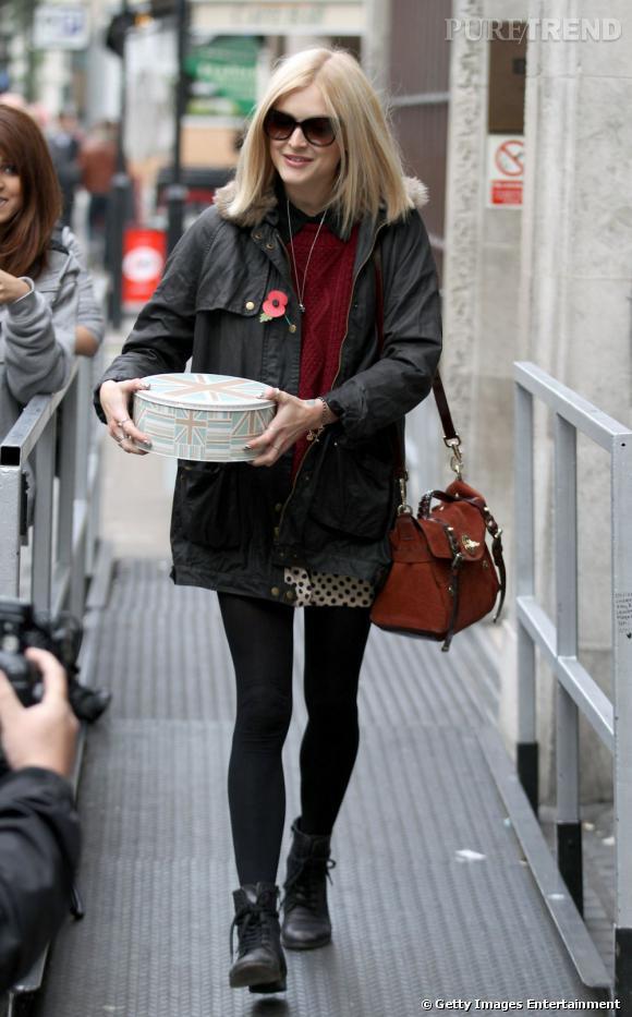 Fearne Cotton en balade dans les rues de Londres.