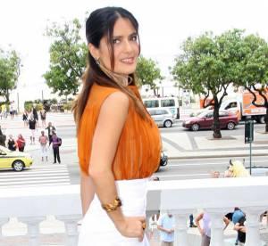 Salma Hayek, une orangeade sexy