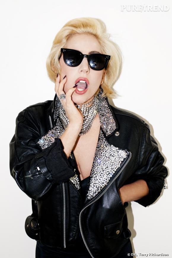 Lady Gaga par Terry Richardson.