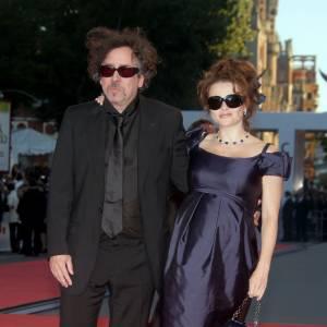 Le couple d'illuminés : Tim Burton et Helena Bonham Carter.