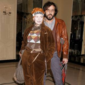 Le couple de la fashion : Vivienne Westwood et Andreas Kronthaler.