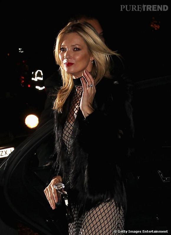 Kate Moss aux British Fashion Awards 2011 à Londres.