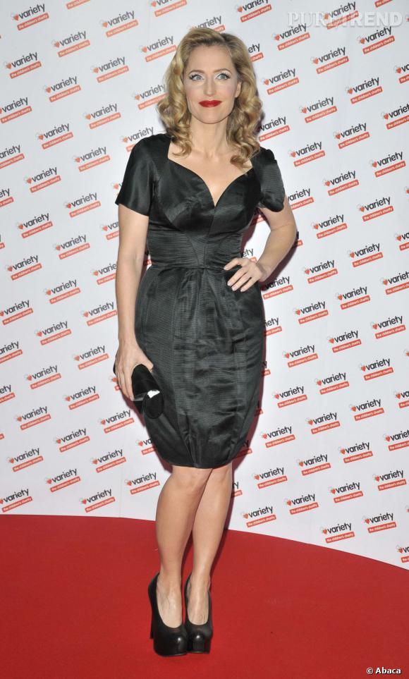 Gillian Anderson, une actrice qui ne manque décidément pas de style.