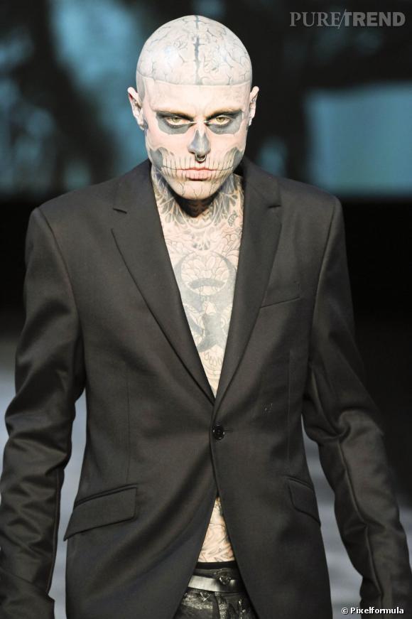 Rick Genest Le Zombie Boy Presque Aussi Addict Aux Piercings Qu Aux
