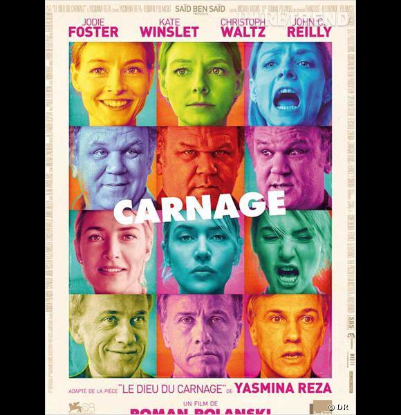 """""""Carnage"""", le nouveau film de Roman Polanski, en salle mercredi 7 décembre."""