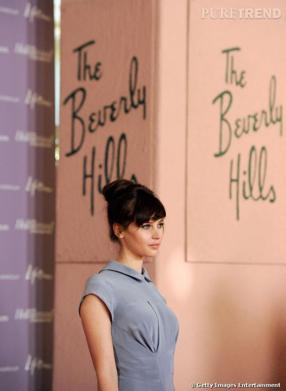 Felicity Jones au Power 100 : Women in Entertainment du magazine Hollywood Reporter à Los Angeles.
