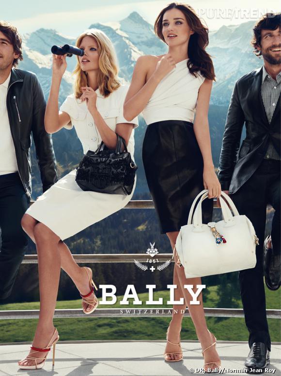 Campagne Bally, Printemps-Eté 2012.