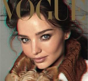 Miranda Kerr pour le Vogue Italie, shootée par l'ingénieux Steven Meisel.