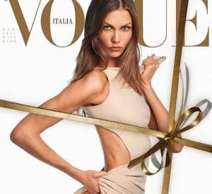 Karlie Kloss, over-sexy pour le Vogue Italie.