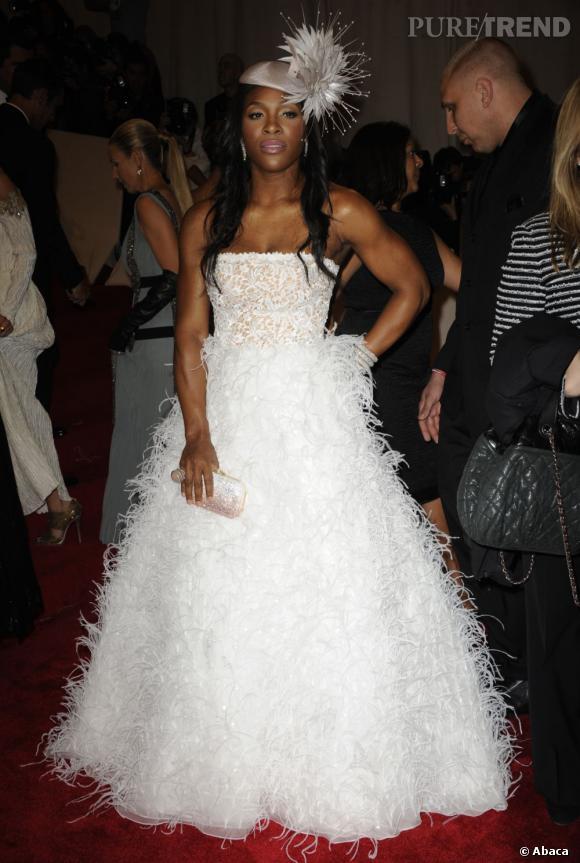Serena Williams, une grosse meringue.