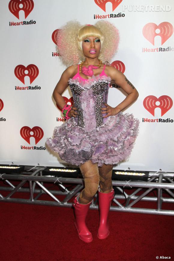 Nicki Minaj, jamais dans la demi-mesure.