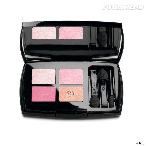 """Collection """"Roseraie des Délices"""" de Lancôme.            Palette """"Les Yeux Doux"""", Rose Romance, 46,70€"""