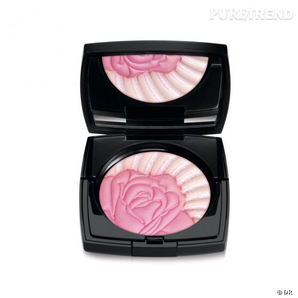 """Collection """"Roseraie des Délices"""" de Lancôme.            Blush """"La Roseraie"""", 46,90€"""