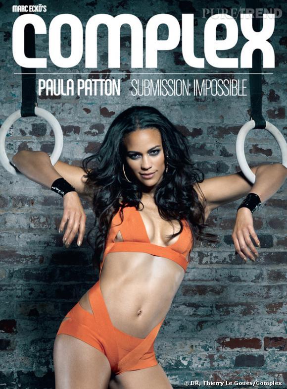 Paula Patton, cover-girl de Complex.