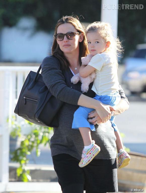 Jennifer Garner et sa fille Seraphina à Los Angeles.