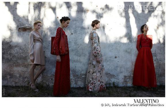 Campagne Valentino, Printemps-Eté 2012.