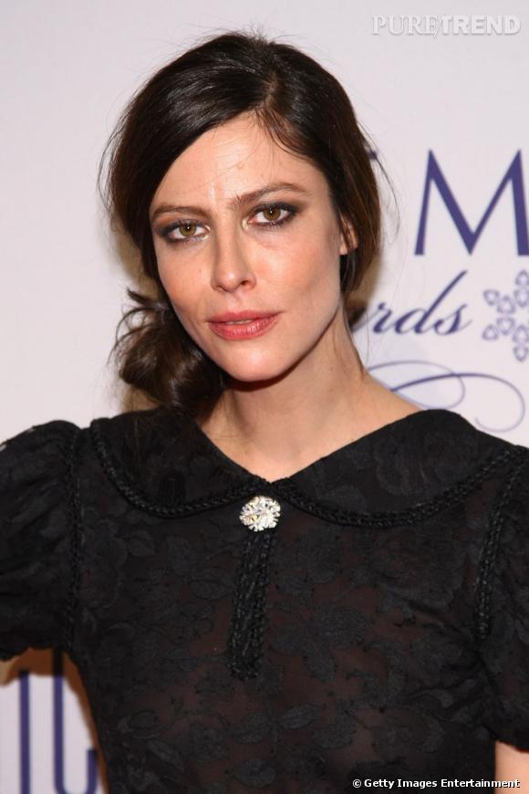 Anna Mouglalis aux GEM Awards 2012 à New York.