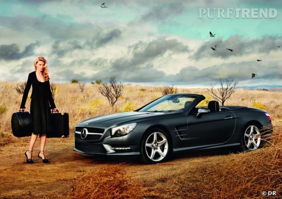 Lara Stone pour Mercedes Benz.