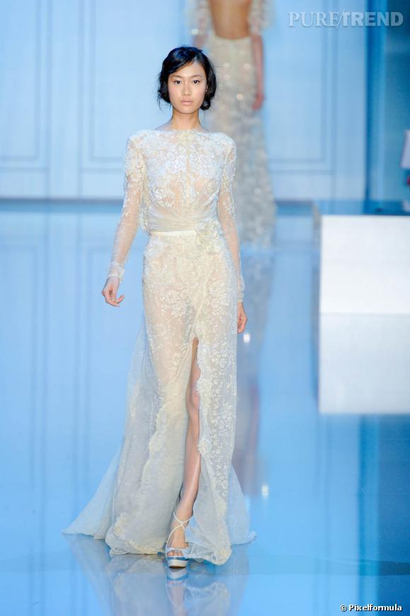 Défilé Elie Saab Haute Couture automne-hiver 2011-2012