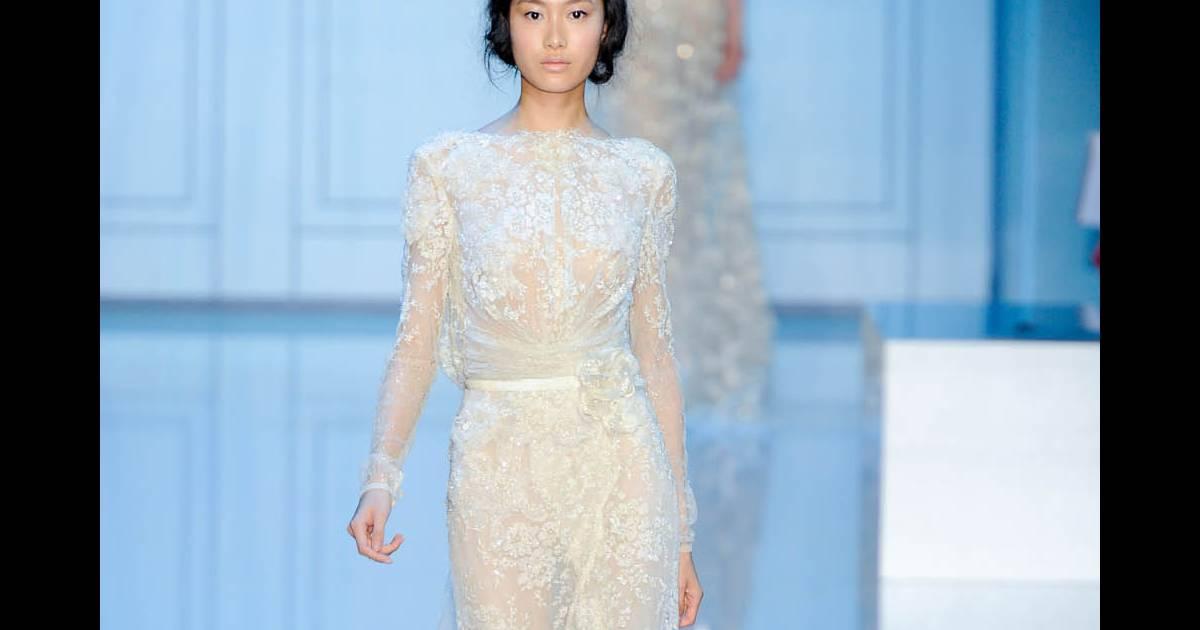 Défilé Elie Saab Haute Couture automne-hiver 2011-2012...