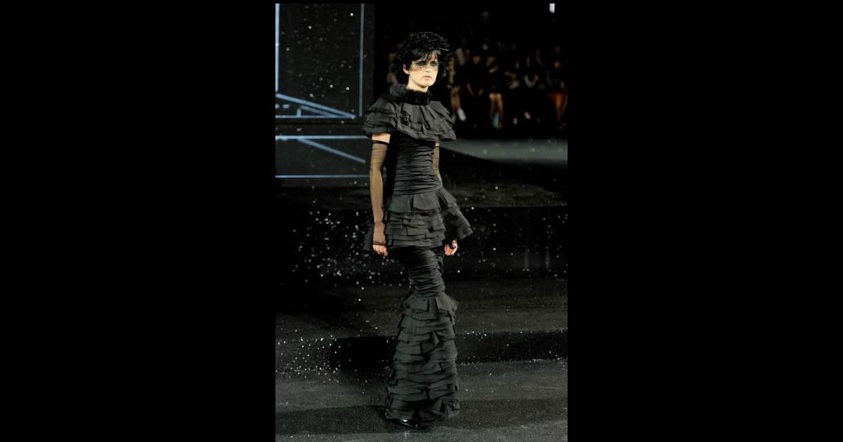 Défilé Chanel Haute Couture automne-hiver 2011-2012...