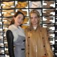 Prisca et Jenna Courtin-Clarins à la soirée de lancement de la collection Tod's No_Code.