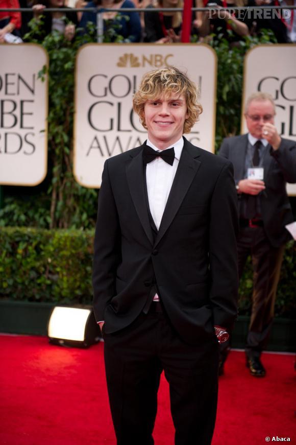 Evan Peters, 25 ans, étoile montante d'Hollywood.
